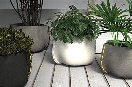 Stitch 100 Plant Pot - In-Situ Image by Blinde Design