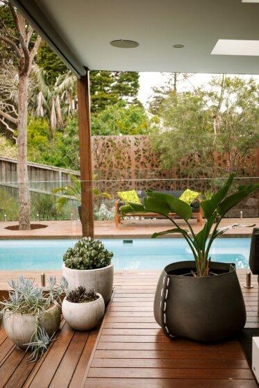 Residential - Concrete Planter Ideas