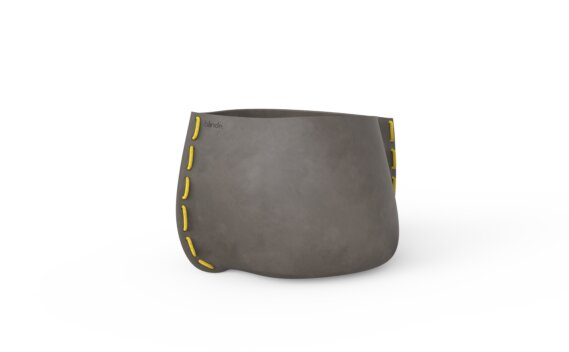 Stitch 50 Planter - Natural / Yellow by Blinde Design