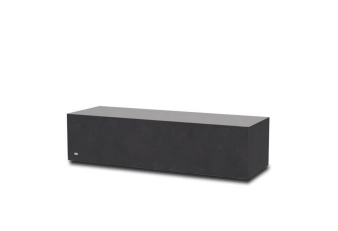 Bloc L2 Coffee Table - Ethanol / Graphite by Blinde Design