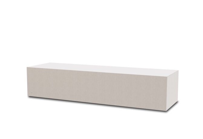 Bloc L3 Coffee Table - Ethanol / Bone by Blinde Design