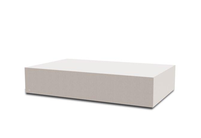 Bloc L5 Coffee Table - Ethanol / Bone by Blinde Design