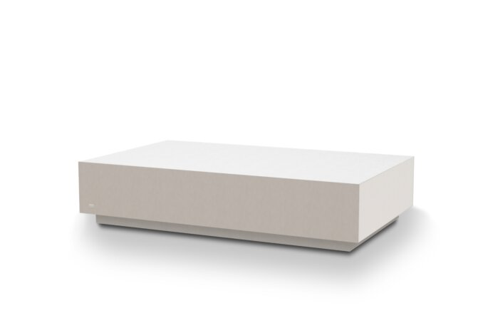 Bloc L6 Coffee Table - Bone by Blinde Design