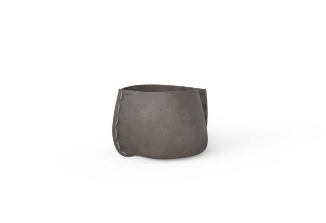 Stitch 25 Plant Pot - Natural / Grey by Blinde Design