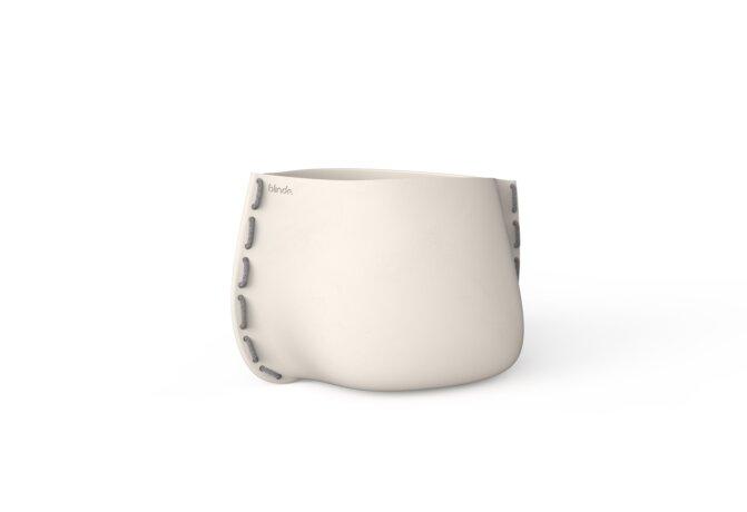 Stitch 50 Planter - Bone / Grey by Blinde Design