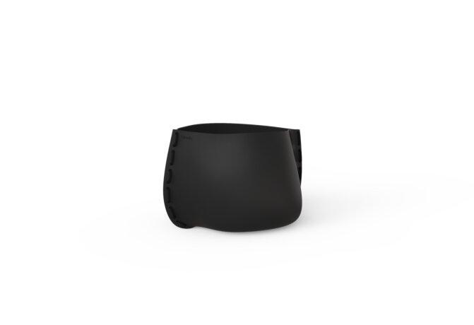 Stitch 25 Plant Pot - Graphite / Black by Blinde Design