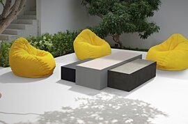 Bloc L1 Coffee Table - In-Situ Image by Blinde Design